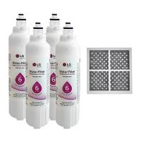 LG Fridge Filter and  Air Filter Combo  4x LT800P  + Air Filter LT120F