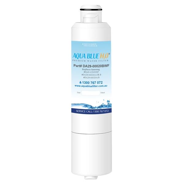 SRF886SCLS Samsung Fridge DA29-00020A/B Replacement Water Filters by Aqua Blue H2O