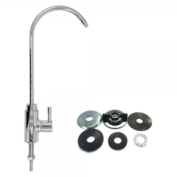 Faucet C Modern Stainless Steel Chrome Finish Kitchen Bar Sink Drinking Water