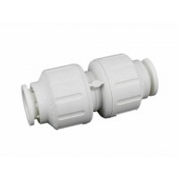 John Guest PEM0415W 15mm STRAIGHT CONNECTOR
