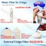 2x DA29-10105J, WSF-100, EF-9603, Samsung Water Filter Compatible