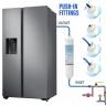 3x LG External Inline Fridge Water Filter BL9808, 3890JC2990A, DA2010CB Push Fit