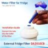 Daewoo External Fridge Filter DD7098 OR DD-7098 Replacement Filter