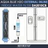 LG 5231JA2012A, 3650JD8050A External Inline Fridge Water Filter