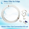 FMP600 Filtamate + Water Line Hose Kit 1/4 inch + Compatible Water Filter Set