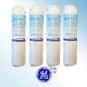 4x AQUA BLUE H2O MSWF-WF FOR GE MSWF FRIDGE WATER FILTER COMPATIBLE REPLACEMENT