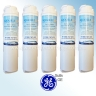 5x AQUA BLUE H2O MSWF-WF FOR GE MSWF FRIDGE WATER FILTER COMPATIBLE REPLACEMENT