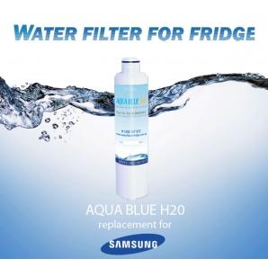 SRF828SCLS Samsung Fridge DA29-00020A/B Replacement Water Filters by Aqua Blue H2O