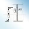 DA29-10105J, WSF100, EF9603 Samsung External Water Filter COMPATIBLE (DA2010CB)