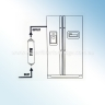 3x Water Filter Jumbo M-CL 10-C+2 Fitting, RF206C