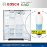 KA58 Bosch Fridge Model 640565 3M CS-52 Premium Water Filter by Aqua Blue H20