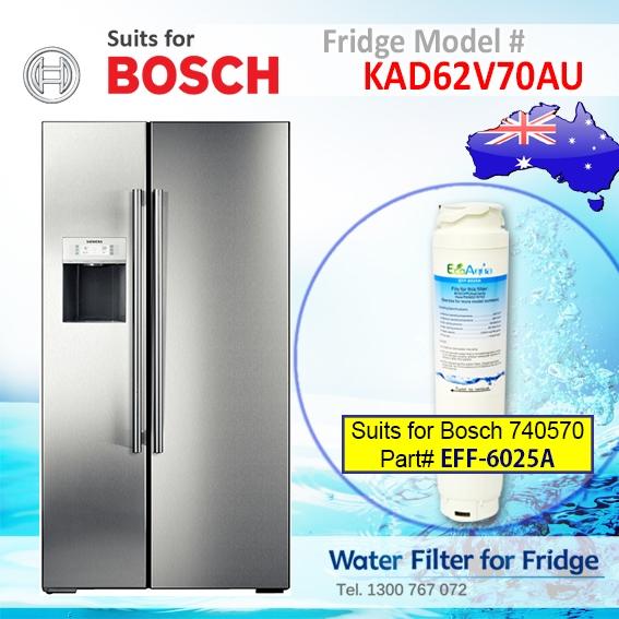 Bosch Fridge Model KAD62V70AU 644845 UltraClarity Fridge Filter for Bosch Replacement Filter EFF-6025A
