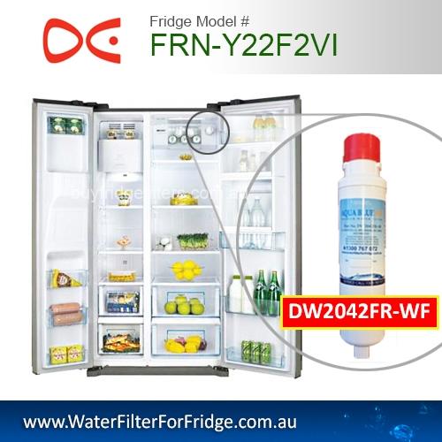 Daewoo Fridge Model FRN_Y22F2VI Aqua Blue H2O DW2042FR-09-WF Daewoo Smeg Westinghouse Replacement Cartridge