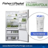FISHER AND PAYKEL 836848 for E522BRMU GENUINE FRIDGE WATER FILTER