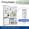 FISHER AND PAYKEL 836848 for E522B GENUINE FRIDGE WATER FILTER