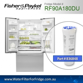 Fisher & Paykel 836848 for RF90A180DU Genuine Fridge Water Filter