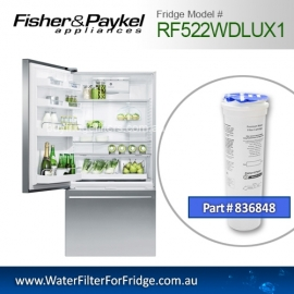 Fisher & Paykel 836848 for RF522WDLUX1 Genuine Fridge Water Filter