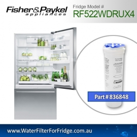 Fisher & Paykel 836848 for RF522WDRUX4 Genuine Fridge Water Filter