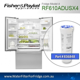 Fisher & Paykel 836848 for RF610ADUSX4 Genuine Fridge Water Filter
