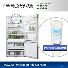 Fisher & Paykel E522 Fridge Model 836848/13040210 Replacement Filter Part