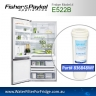 FISHER AND PAYKEL E522 FRIDGE MODEL 836848/13040210 REPLACEMENT FILTER PART