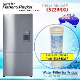 Fisher & Paykel E522BRXU Fridge Model 836848/13040210 Replacement Filter Part