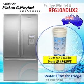 Fisher & Paykel RF610ADUX2 Fridge Model 836848/13040210 Replacement Filter Part