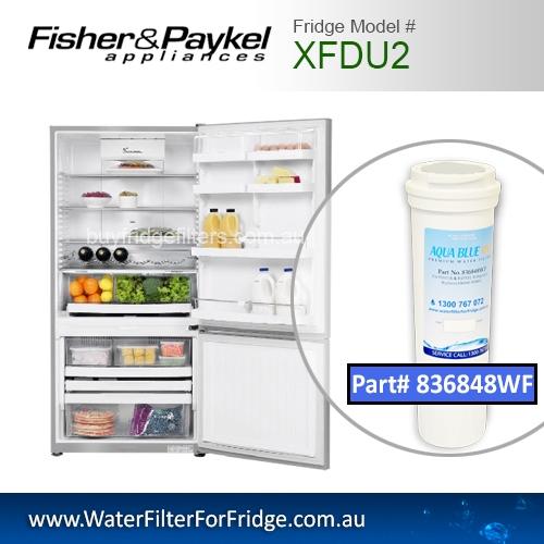 Fisher & Paykel XFDU2 Fridge Model 836848/13040210 Replacement Filter Part