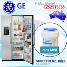 REPLACEMENT  FILTER FOR GCE21XGYFLS GE SmartWater MWF Refrigerator Water Filter