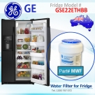 REPLACEMENT  FILTER FOR GSE22ESHSS GE SmartWater MWF Refrigerator Water Filter