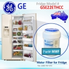 REPLACEMENT FILTER FOR GSE22ETHBB GE SmartWater MWF Refrigerator Water Filter
