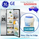 REPLACEMENT FILTER FOR GZS23HGEWW GE SmartWater MWF Refrigerator Water Filter