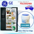 REPLACEMENT FILTER FOR GZS23HSESS GE SmartWater MWF Refrigerator Water Filter