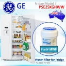 REPLACEMENT FILTER FOR PSE25KGHBB GE SmartWater MWF Refrigerator Water Filter