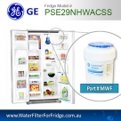 REPLACEMENT FILTER FOR PSE25KSHSS GE SmartWater MWF Refrigerator Water Filter