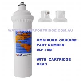 Omnipure ELF-1M ELF-Series Water Filter 1 Micron with  Header set