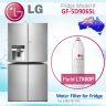 3x LG ADQ73613401 / LT800P Genuine Fridge Filter