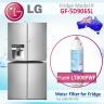 LG REPLACEMENT ADQ73613401, LT800P FRIDGE FILTER by AQUA BLUE H2O