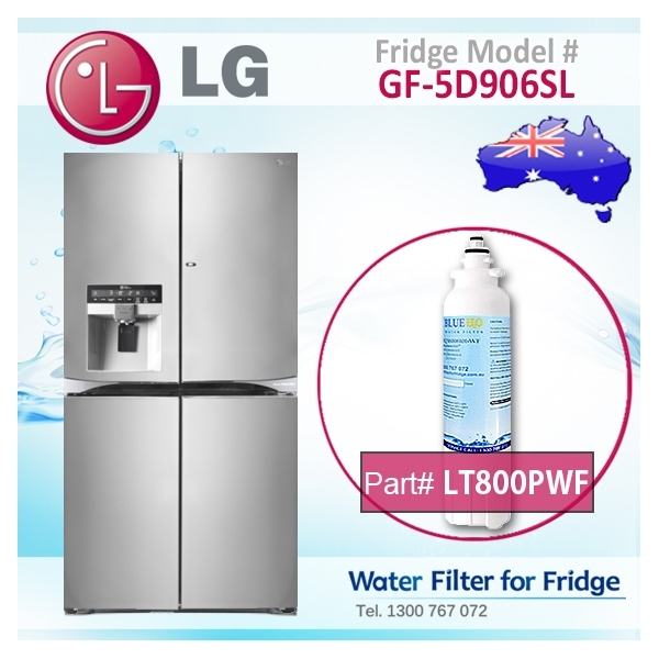 lg refrigerator water filter adq73613401. lg replacement adq73613401, lt800p fridge filter by aqua blue h2o lg refrigerator water adq73613401 n