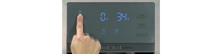 How To Reset The Water Filter Indicator On a Miele Fridge.