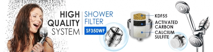 Aqua Blue H20 Shower Filters