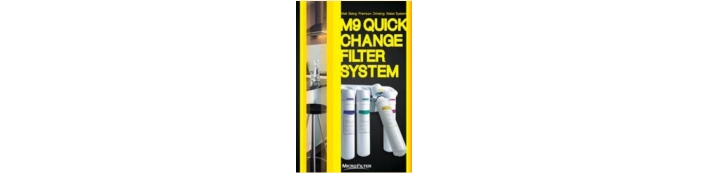 MICROFILTER  WATER FILTER M9 SERIES