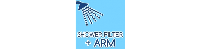 SHOWER FILTER & ARM