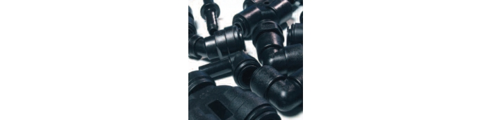 Black Acetal Fittings