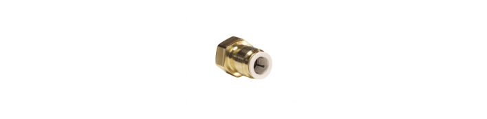 Brass Female Connector – FFL Thread