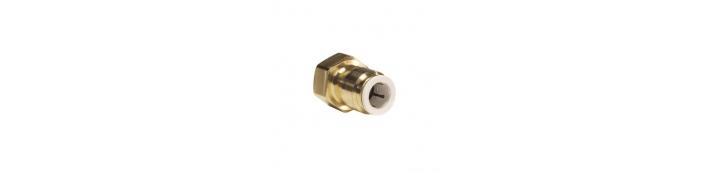 Brass Female Connector – FFL Thread