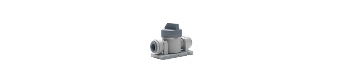 Shut Off Valve With Mounting Clip – Short Handle