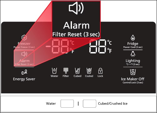 Reset Samsung Fridge Filters - Water Filter for Fridge